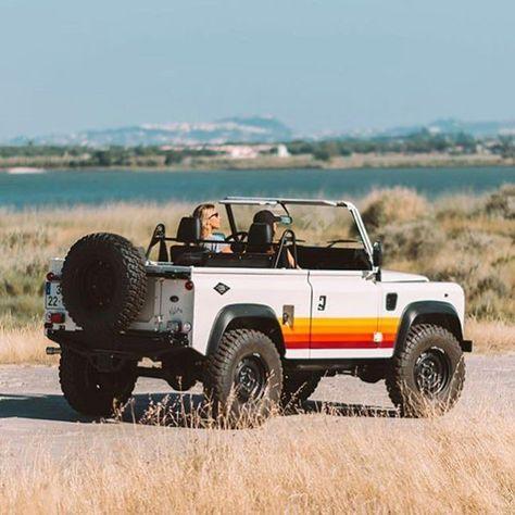 Home — Cool & Vintage - Sweet Cars Defender 90, Land Rover Defender, Dream Cars, My Dream Car, Cool Vintage, Vintage Cars, Vintage Jeep, Volkswagen, Beach Cars