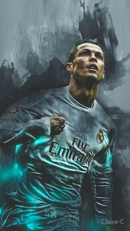Cristiano Ronaldo Poster By Claire C Cristiano Ronaldo Cr7 Ronaldo Wallpapers Christiano Ronaldo