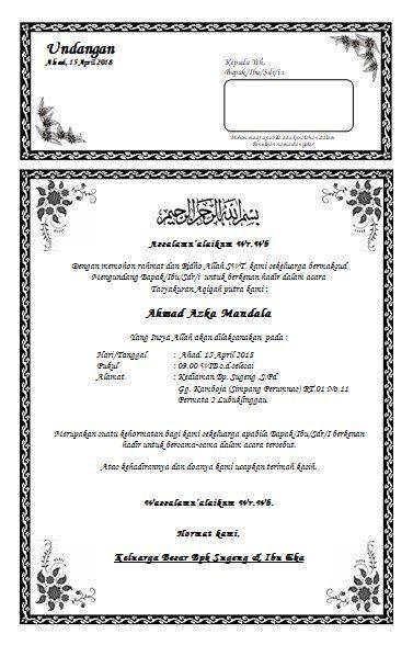 Kt04 Payung Percetakan Pagarsih Undangan Khitanan Wedding
