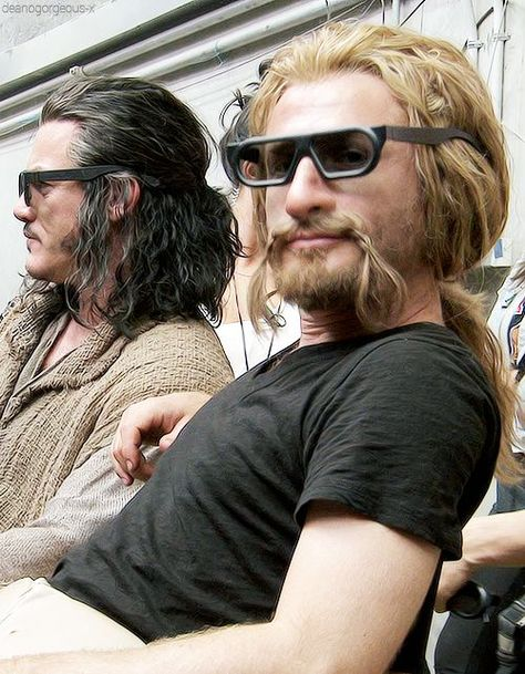 Luke Evans as Bard & Fili in the Hobbit