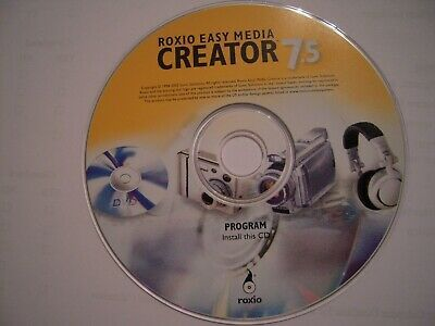 Ebay Link Ad Roxio Easy Media Creator 7 5 10th Anniversary Edition With Key Code And Tsid Coding The Creator 10 Anniversary