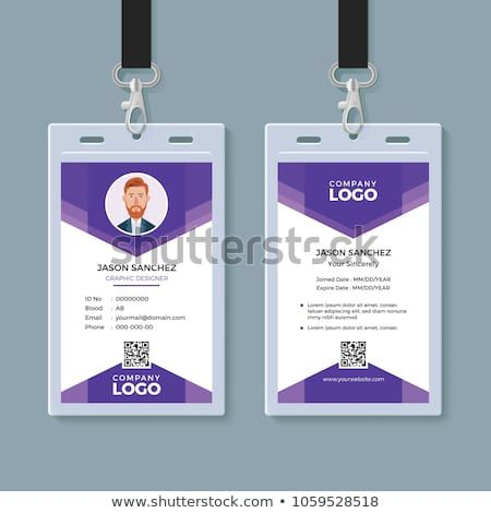 Office Id Card Template Perfect For Any Types Of Agency Corporate Offices And Companies Id Card Template Colorful Business Card Graphic Design Business Card