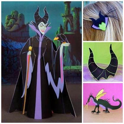 Everything Maleficent: Crafts, Clips, Activity Sheets and More #Maleficent #Disney #DisneySMMoms