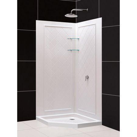 Home Improvement Fiberglass Shower Enclosures Corner Shower