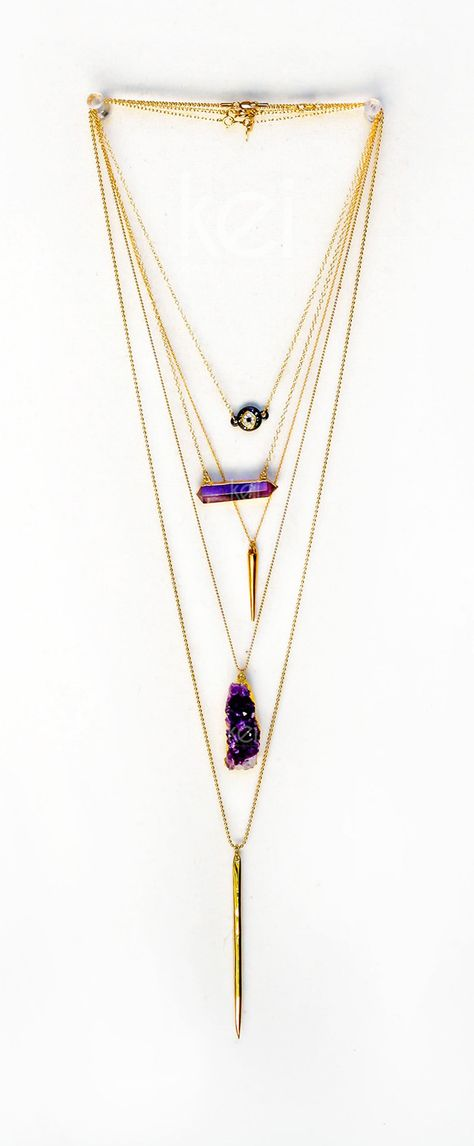 spice things up with layered chains   kei jewelry