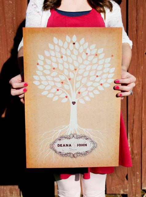 tree poster board guest books 54 ideas