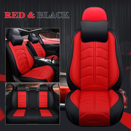 Fine 5 Seats Car Seat Cover Universal Suv Pu Leather Cushions Unemploymentrelief Wooden Chair Designs For Living Room Unemploymentrelieforg