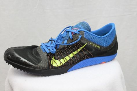 buy popular 4105f 190a5 ... Nike Zoom Victory XC 3 Cross Country Spikes Blue Men Women Youth MSRP  120 NEW Nike ...