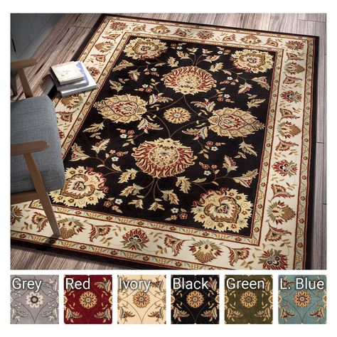 Well Woven Agra Traditional Ushak Oriental Mansion Area Rug 11