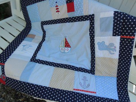 Kinderzimmer maritim ~ Gardinen & vorhänge gardine marine style ein designerstück von