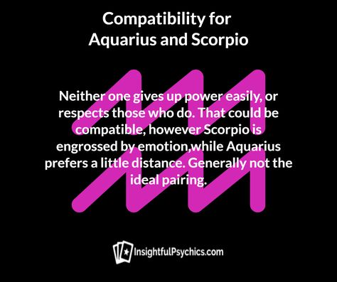 aquarius and scorpio whats your compatibility? #aquariuscompatibility #aquariusscorpio #aquariusandscorpio #scorpiocompatibility #scorpio  #aquarius