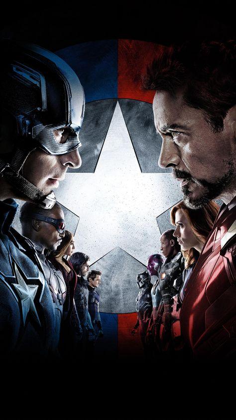 Captain America: Civil War (2016) Phone Wallpaper | Moviemania