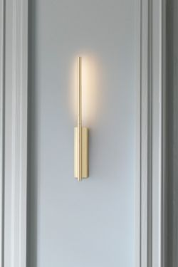 Ultra Design Reading Wall Lamp In Satin Brass Link 41cm Cvl Luminaires Contemporary Lighting Made In France Massive Brass Ref 18110007 Wall Lamps Bedroom Contemporary Wall Lamp Wall Lamp Design