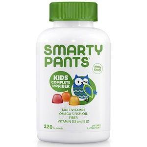 Smartypants Kid Formula And Fiber 120 Gummies Gummy Vitamins Kids Multivitamin Fiber Supplements