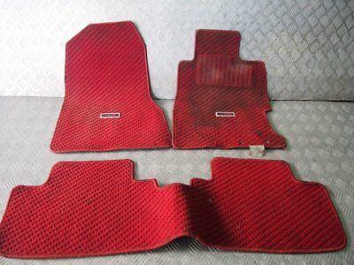 Ad Ebay Jdm 02 06 Fit For Honda Civic Type R Ep3 K20a Eu1 Interior Red Floor Carpet Honda Civic Type R Honda Civic Jdm