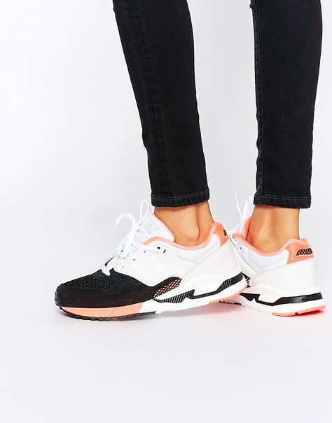 0f1024a54e Pink | New Balance Black White & Pink 530 Sneakers at ASOS | tennis ...
