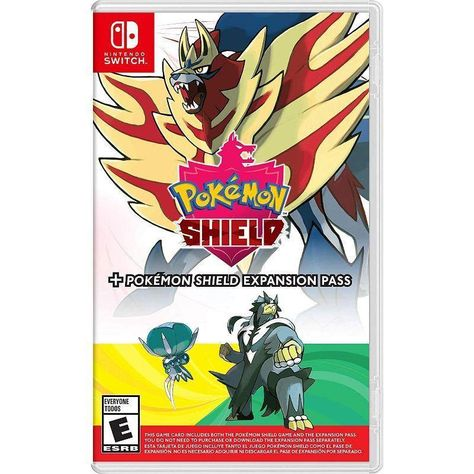 Pokemon Sword or Shield Expansion Pass Bundle Game for Nintendo Switch - Shield Plus Expansion