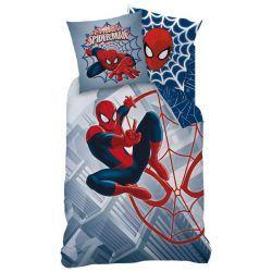 Housse De Couette Spiderman City Pour Lit 1 Personne Couettespiderman Paruredelitspiderman Parure De Lit Housse De Couette Enfant Housse De Couette