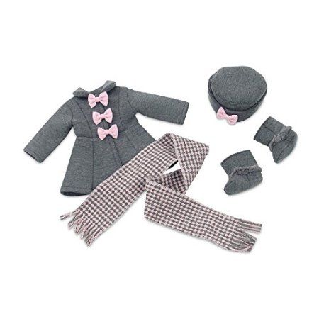 18 Inch Doll ClothesLovely Grey and Pink Coat Outfit Includes Incredible