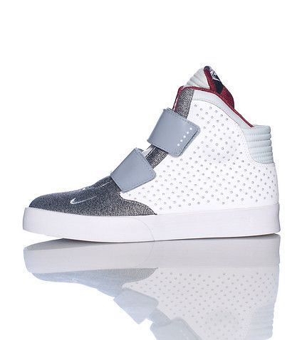 Nike High Top Men S Sneaker Lace Up Closure Perforated Leather Nike