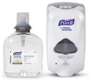 Details About Purell 5456 D1 Tfx Dispenser Refill Hand