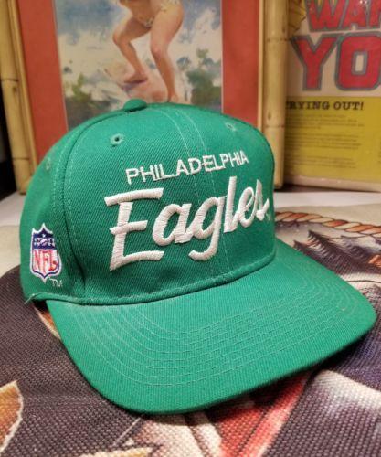 783db9002 Vintage 90s Philadelphia Eagles Double Script Sport Specialties ...