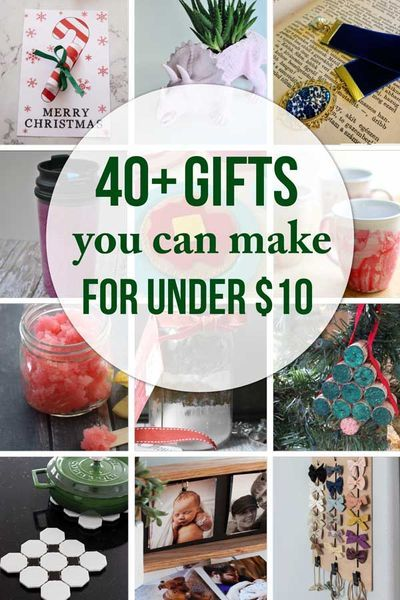 45 Cheap Gift Ideas You Can Make For Less Than 10 In 2020 Handmade Christmas Gifts Holiday Crafts Gifts Handmade Christmas