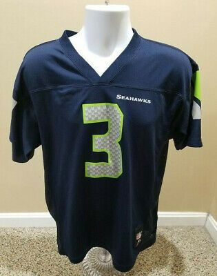 Russell Wilson Seattle Seahawks Nfl 3 Jersey Youth Xl New Without Tags Ebay Nfl Outfits Nfl Seattle Seahawks
