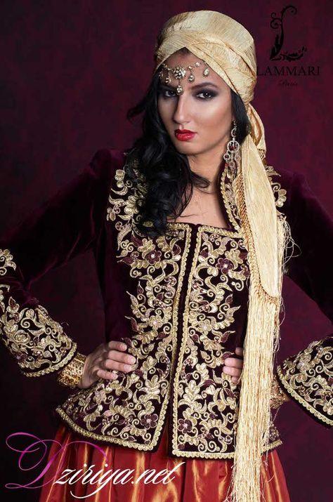 La nouvelle collection de robes algériennes de Kaouthar Lammari Algerian tradition