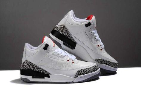 Nike Air Jordan 3 Mens Retro Limited Edition White Black