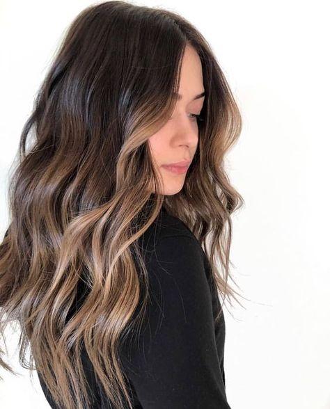 35 Popular Brunette Balayage Hair Color Ideas