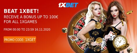USE OUR PROMO CODE 1XGET WHILE REGISTERING AND GET 100% BONUS ON FIRST DEPOSIT AND MANY MORE