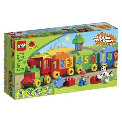 Calendrier Avent Duplo.Lego Duplo Number Train 10558 Products Lego Duplo Lego