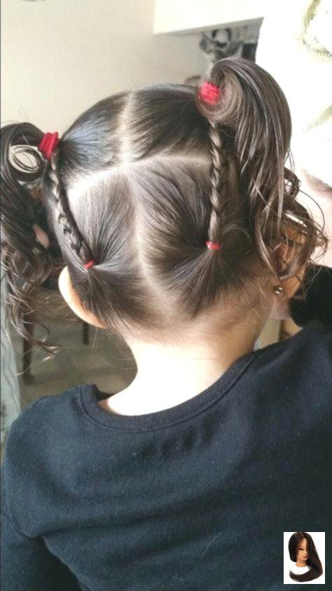 Black Girls Hair Haircuts Hairdos Hairstyles Hip Kids Hairstyles Easy Short Hairstyl Penteados Com Tranca Penteado Infantil Simples Penteados Infantis