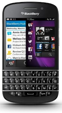 blackberry q10 cheap deals