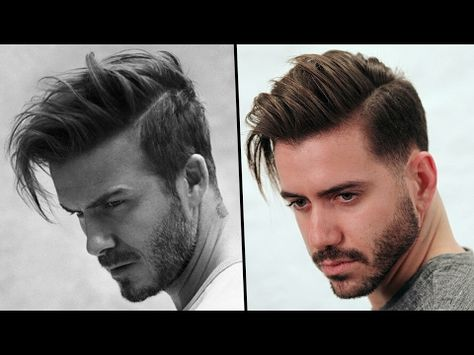 David Beckham Hairstyle Tutorial How To Style Mens Hair 2017