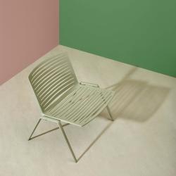 de Fast zebra lounge chair terracotta, designed to … -