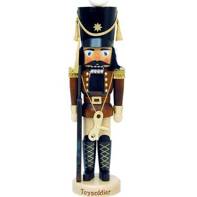 The Holiday Aisle Christian Ulbricht Toy Soldier Mini Nutcracker