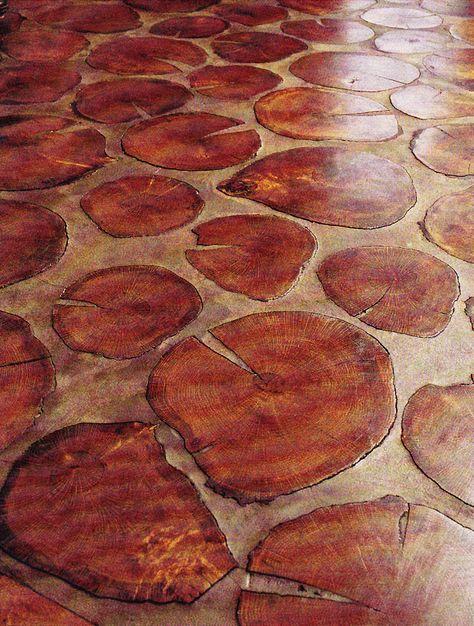 34 Wood Slice Home Décor Ideas: Tree Trunk Slices On Pinterest