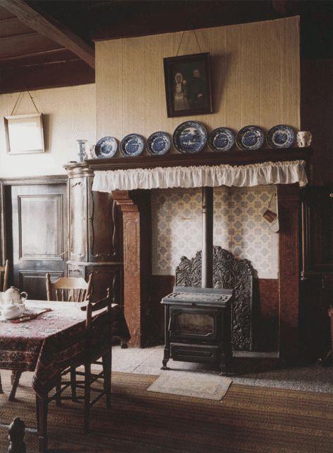 interieur voorhuis, oude keuken Winterswijk | Little Dutch Cottage ...