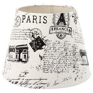 Illumination Station Burlap Paris Lamp Shade French Country Lighting EUC  France | Stuff Iu0027m Sellin ...u Might Like It | Pinterest | French Country  Lighting, ...