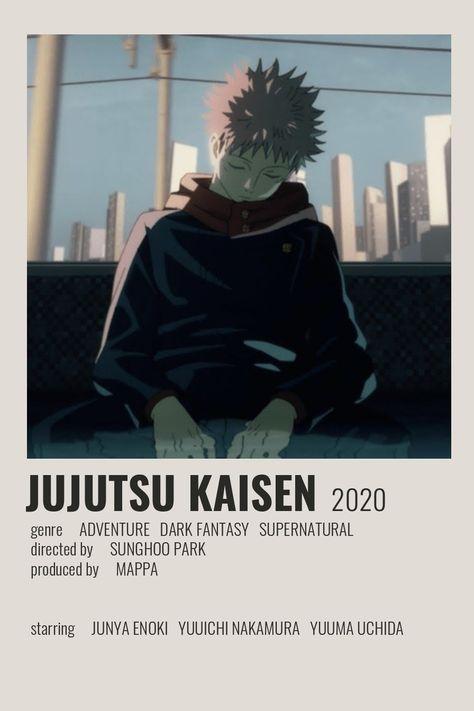 Jujutsu Kaisen Poster by Cindy