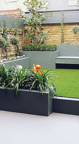 Elegant Stylish Low Maintenance Contemporary Modern Garden Ideas Low Maintenance Garden Modern Garden Garden Paving
