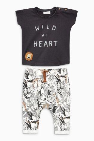 Baby Toddler Boys /'Rocket/' Joggers /& T-shirt Set Newborn - 24 Months
