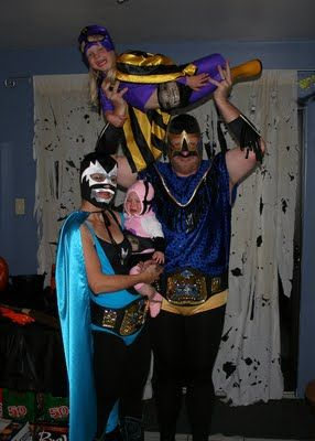 Luchadores de Familia for the win!