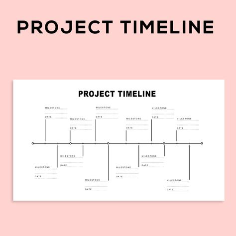 Project Management Scheduling Milestone Timeline Charts and Project Planner Spreadsheet template, fo Project Planner Template, Project Management Templates, Bullet Journal Project Planning, Project Timeline Template, It Management, Business Management, Program Management, Microsoft Excel, Microsoft Project