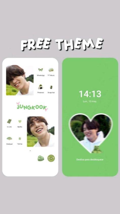 Jungkook Green Theme <3