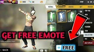 How To Get Free Emotes In Garena Free Fire 100 Real No Server Change No Hack Free Fire Epic Free How To Get Hacks