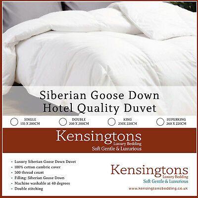 Hungarian Goose Down Kensingtons Duvet