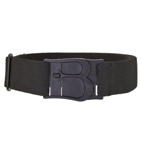 Beltaway Flat Buckle Stretch Belt, No Show Adjustable Belt